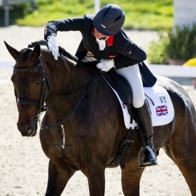 Nicola Wilson leads overnight on 20.9 dressage as eventers show they mean business at Europeans
