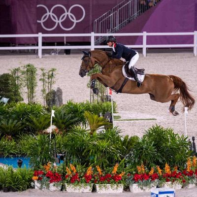 Ben Maher strikes gold in the Tokyo 2020 Olympic showjumping